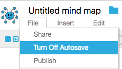 Using MindMup with Google Drive